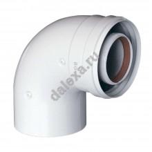 Коаксиальный дымоход Baxi 100(60) 90 градусов
