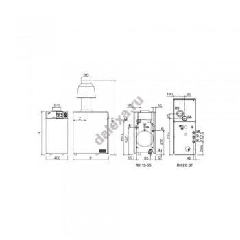Газовый котел SIME RX 19 TP