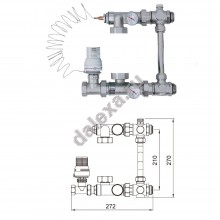 Насосно-смесительный узел TIM JH-1032