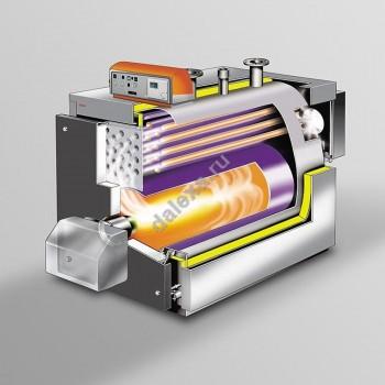 Стальной напольный котел UNICAL ELLPREX HT 760 (760 кВт)
