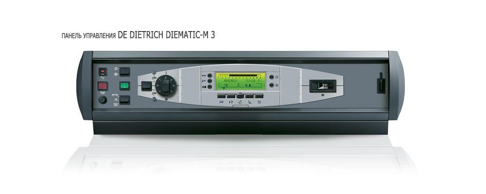 Панель управления DeDietrich Diematic m3 для котла DTG 230