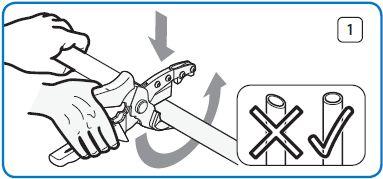Нарезка и монтаж трубы и фитингов UPONOR