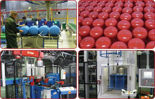 Завод по производству расширительных баков WESTER